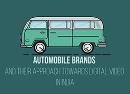 Automobile brands and their approach towards Digital video in India