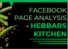 Facebook Page Analysis - Hebbars Kitchen