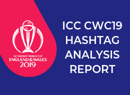 ICC CWC19 Hashtag Analysis Report