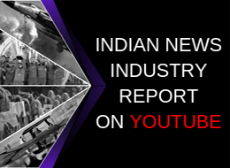 Indian News Industry Report on YouTube