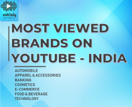 Most Viewed Brands on YouTube - India 2018