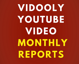 YouTube Monthly Report