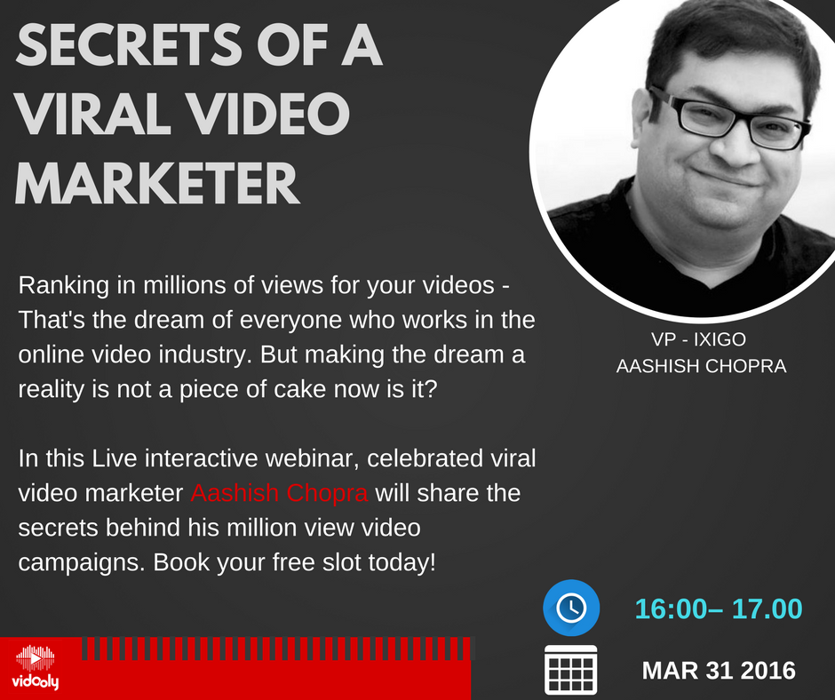 Secrets of a Viral Video Marketer